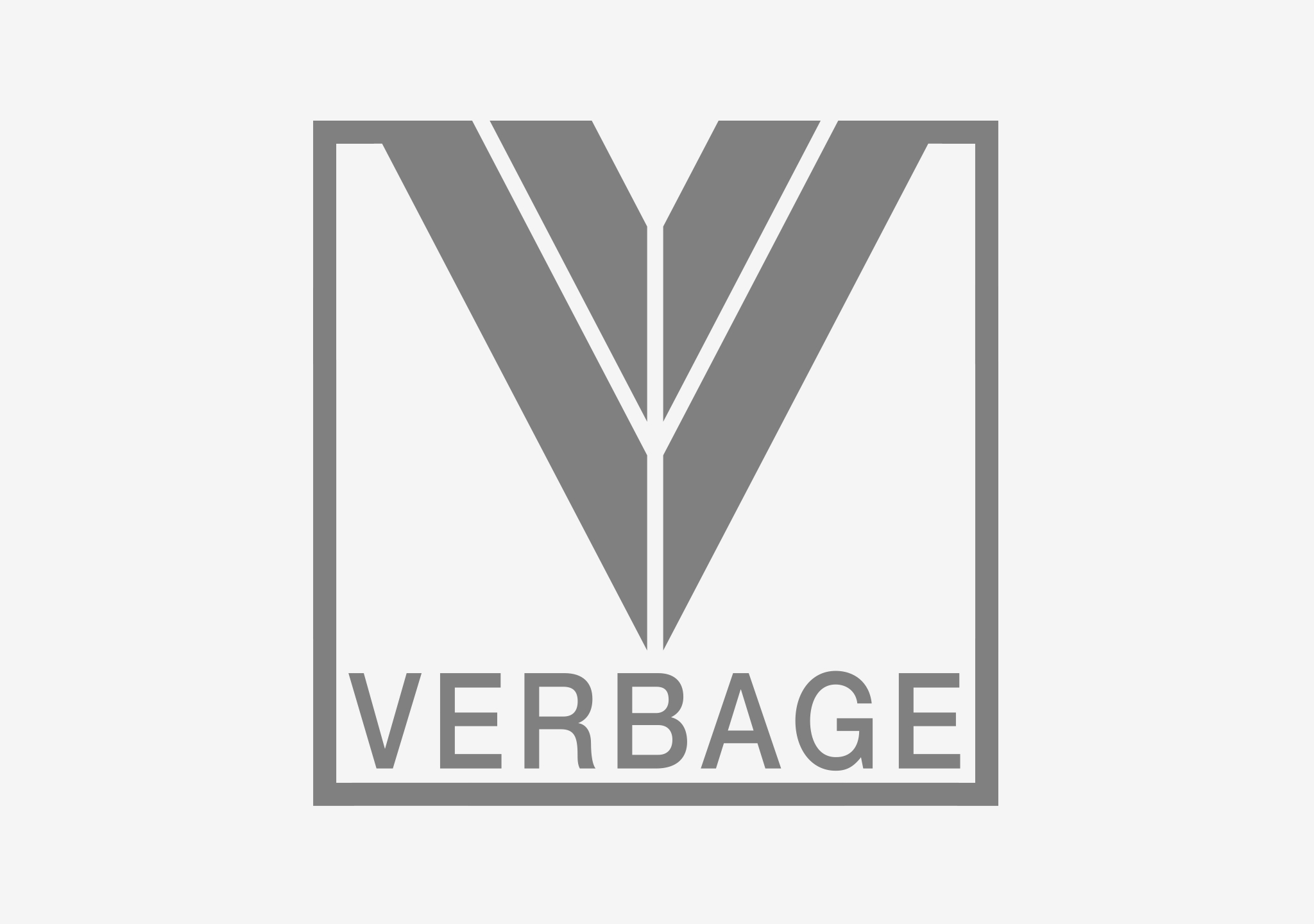 Featured-Verbage-Records-Logo-Design
